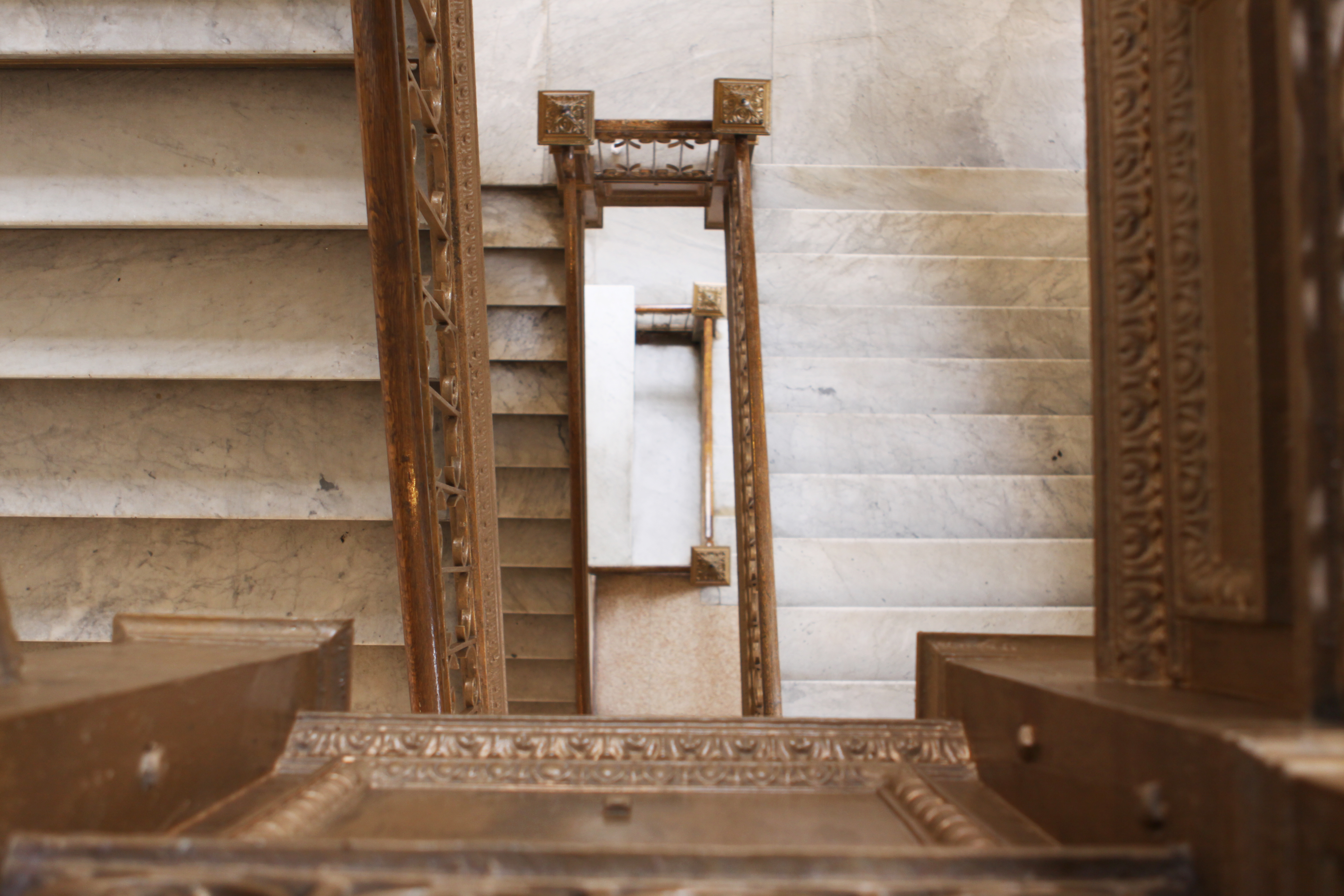 Elizabeth Zanghi/The Ram Collins Hall may seem like a maze of stairs, especially since the historic building currently is not wheelchair accessible.