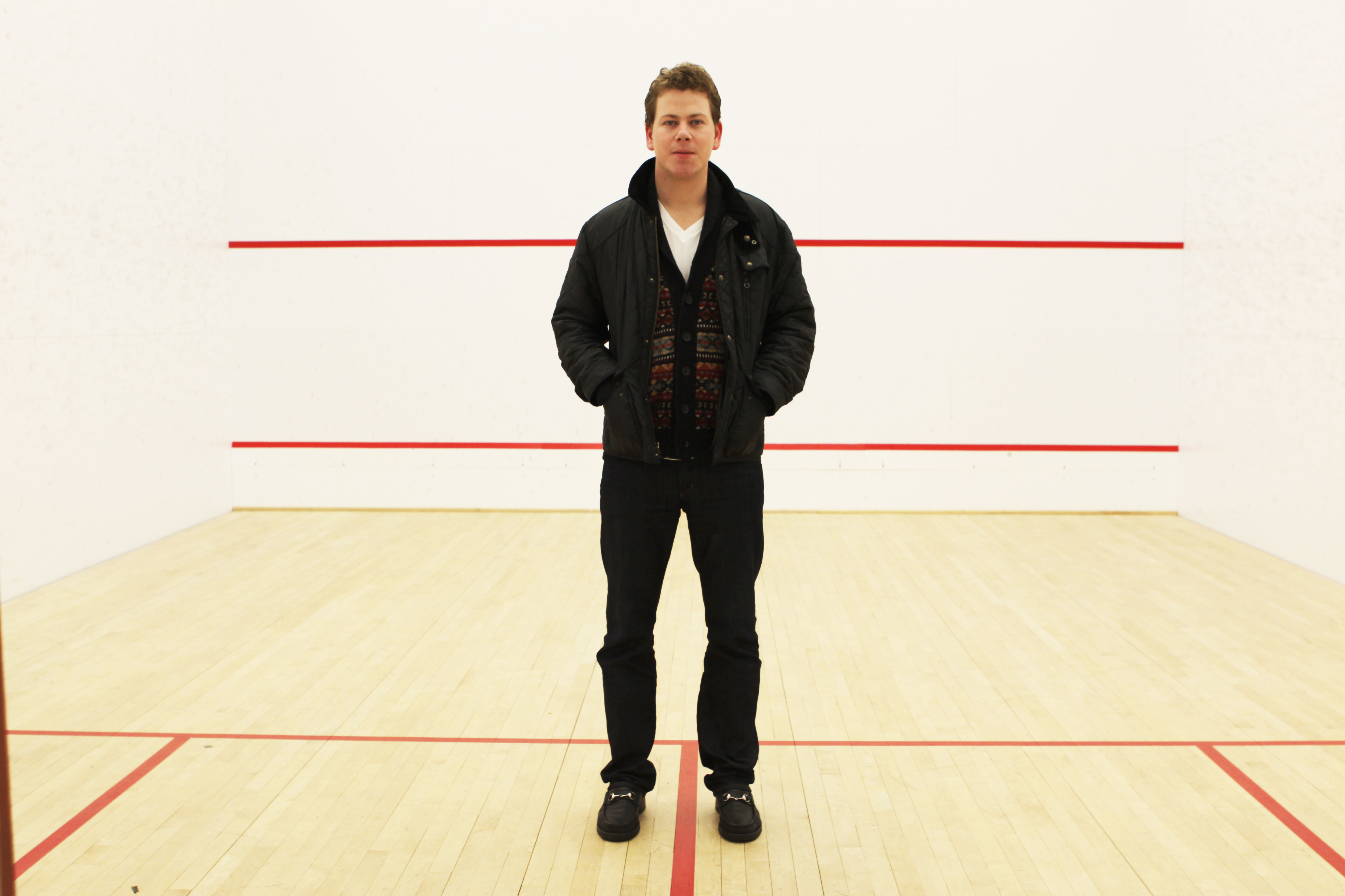 O'Brien first started playing squash at Roycemore Prep School in Chicago.