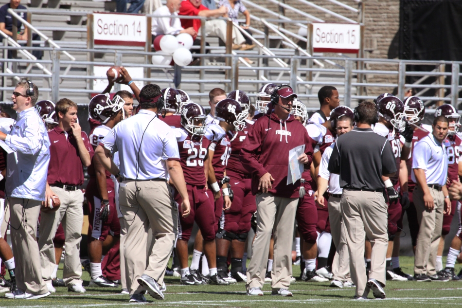 A Look Inside Fordham Football's Signals