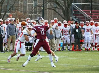 Michael Nebrich scored four total touchdowns in Saturday's playoff victory.