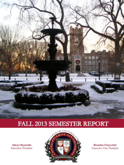 Rose Hill USG's midyear report.