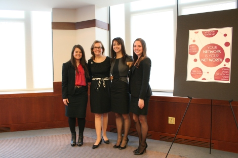 Smart Women Securities presented at the fifth annual 2014 Women in Leadership Conference. (Courtesy of Emily Harman)