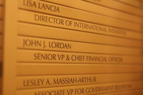 Fordham's CFO resigned amid faculty/admin battle over salaries & benefits (Joseph Vitale/The Ram)