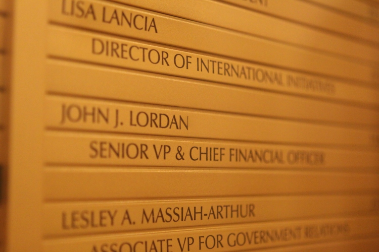 Fordham's CFO resigned amid faculty/admin battle over salaries & benefits (Joseph Vitale/The Ram)