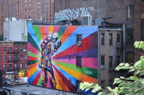 Have fun and visit new places in NYC, like the Highline on the Lower West Side. Samuel Joseph/The Ram