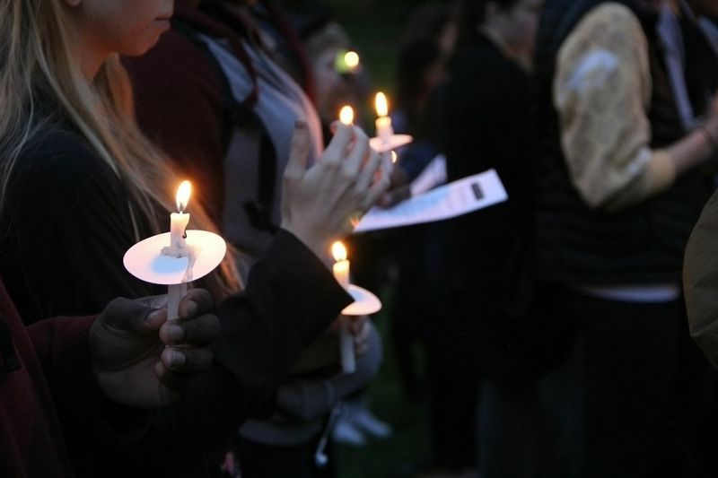Students Gather For Police BrutalityVigil