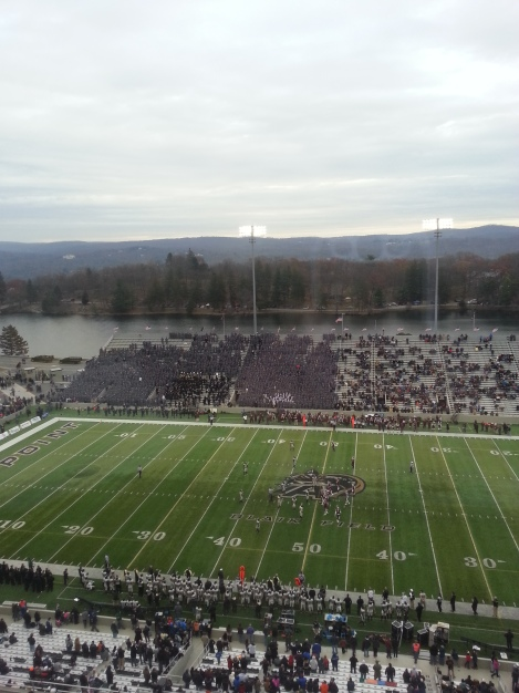 The Rams played their final game of the 2014 regular season at Michie Stadium in West Point, New York. (Max Prinz/The Fordham Ram)