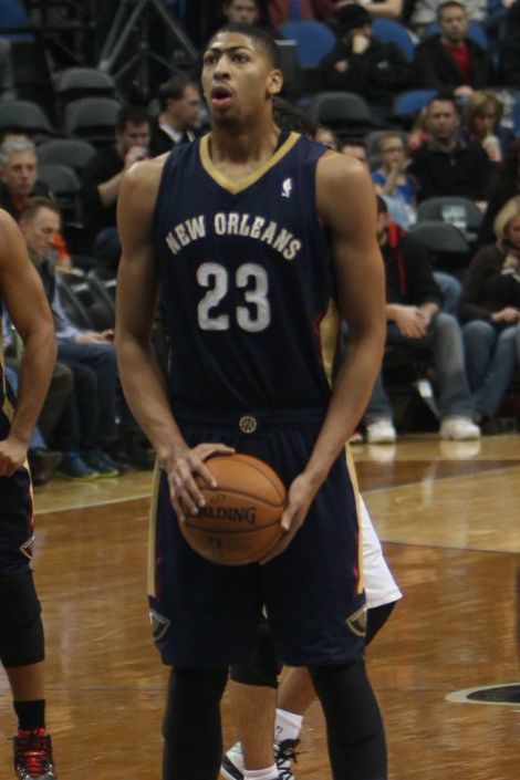 Anthony Davis' breakout season has Pelicans fans hoping for the postseason. Courtesy of Wikimedia