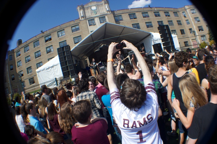 Past Spring Weekend performances have included artists such as Cartel, Cold War Kids, Jay Sean and White Panda. Samuel Joseph/The Ram
