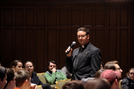 Fr. Phil Florio Announces He Will Leave Fordham inJune