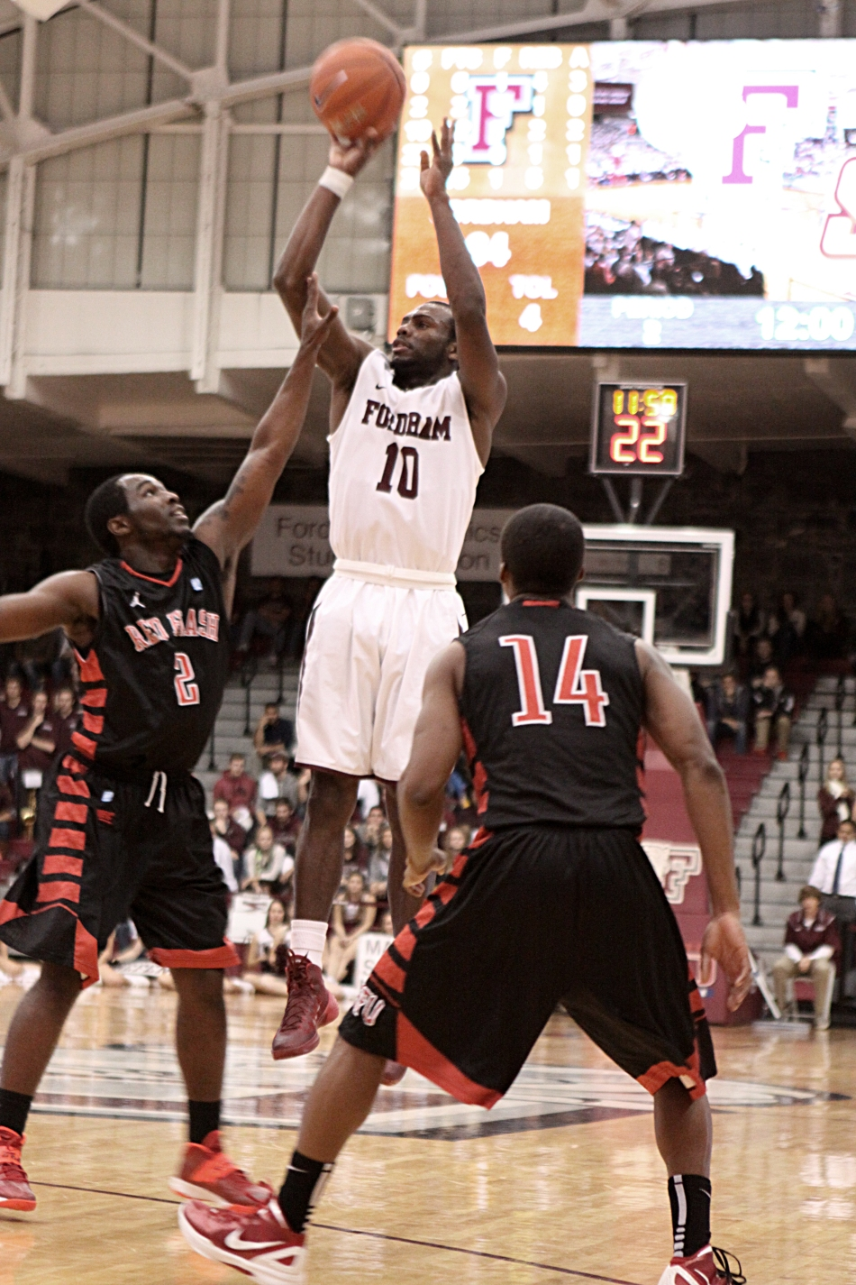 George Washington Spoils Rose Hill's 90th Birthday, Upends Rams79-59