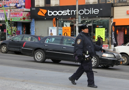 Students Return to Charged City Following NYPD de BlasioRift