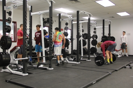 Anticipated Weight Room Opens