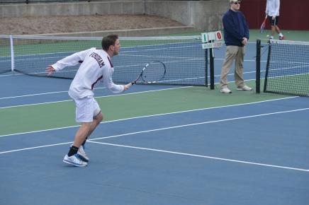 Men's Tennis Gets First Win ofSpring