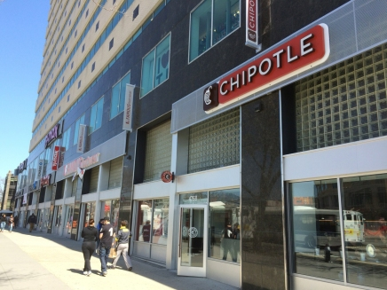 Chipotle, and other Chains, Signal a ChangingNeighborhood