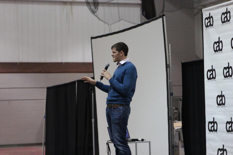 HONY Founder Brandon Stanton Kicks Off SpringWeekend