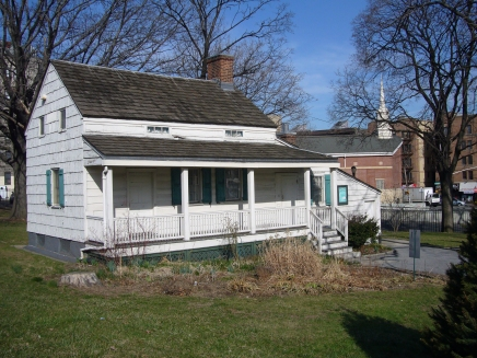 A Small Cottage Near Campus, Once Home to Edgar AllenPoe
