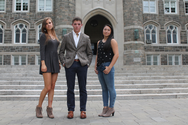 Fall Fashion Descends On Rose Hill Campus