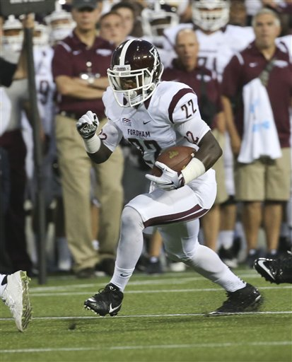 Running back Chase Edmonds will be back in action for the Rams this fall. Mike Groll/AP