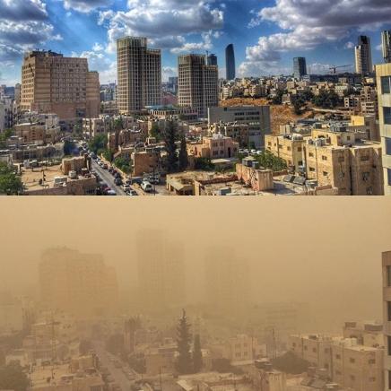 Sandstorms in Amman Stir Up a NewPespective
