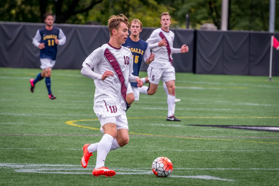 Men's Soccer Falls at A-10 Semis