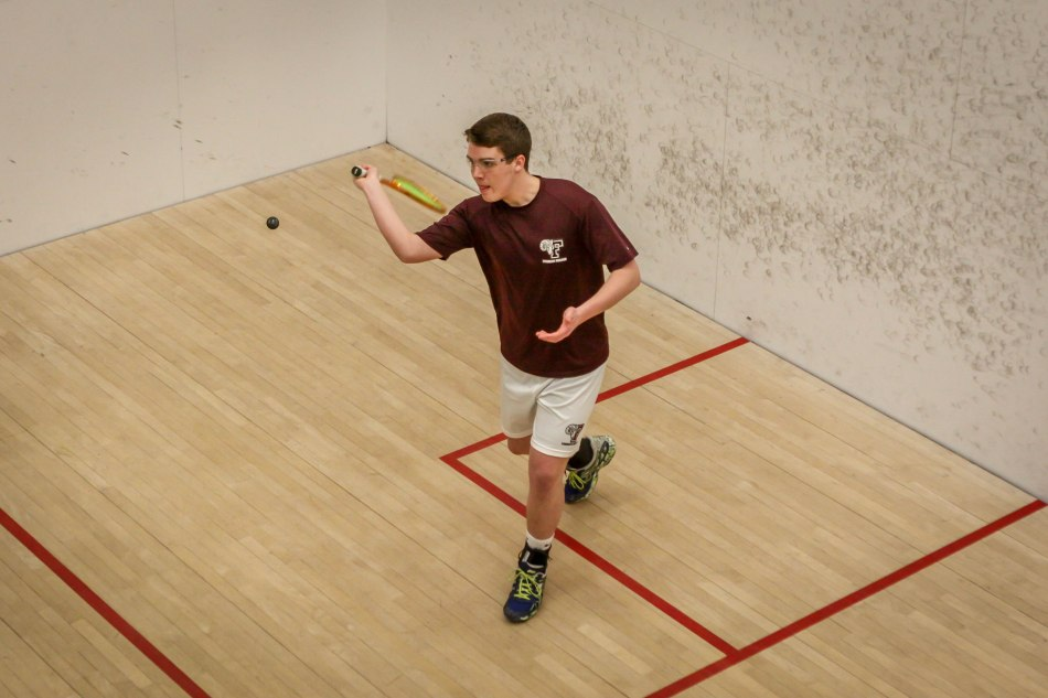 Squash Falls to NYU at Home