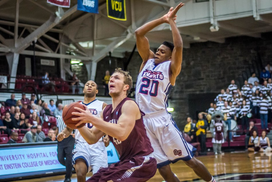 Men's Basketball Topples St. John's 73-57