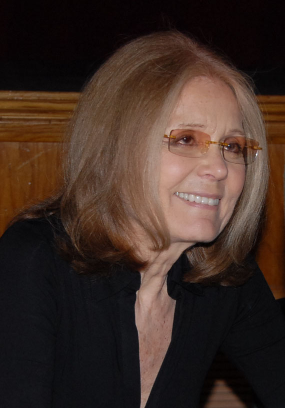 Gloria Steinem - FlickrMindy Kittay