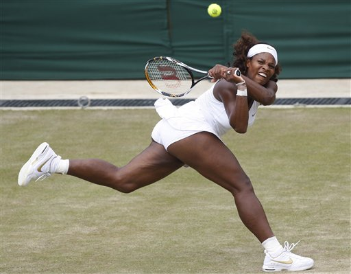 Serena Williams' journey to success goes beyond the typical rags-to-riches story. AP.