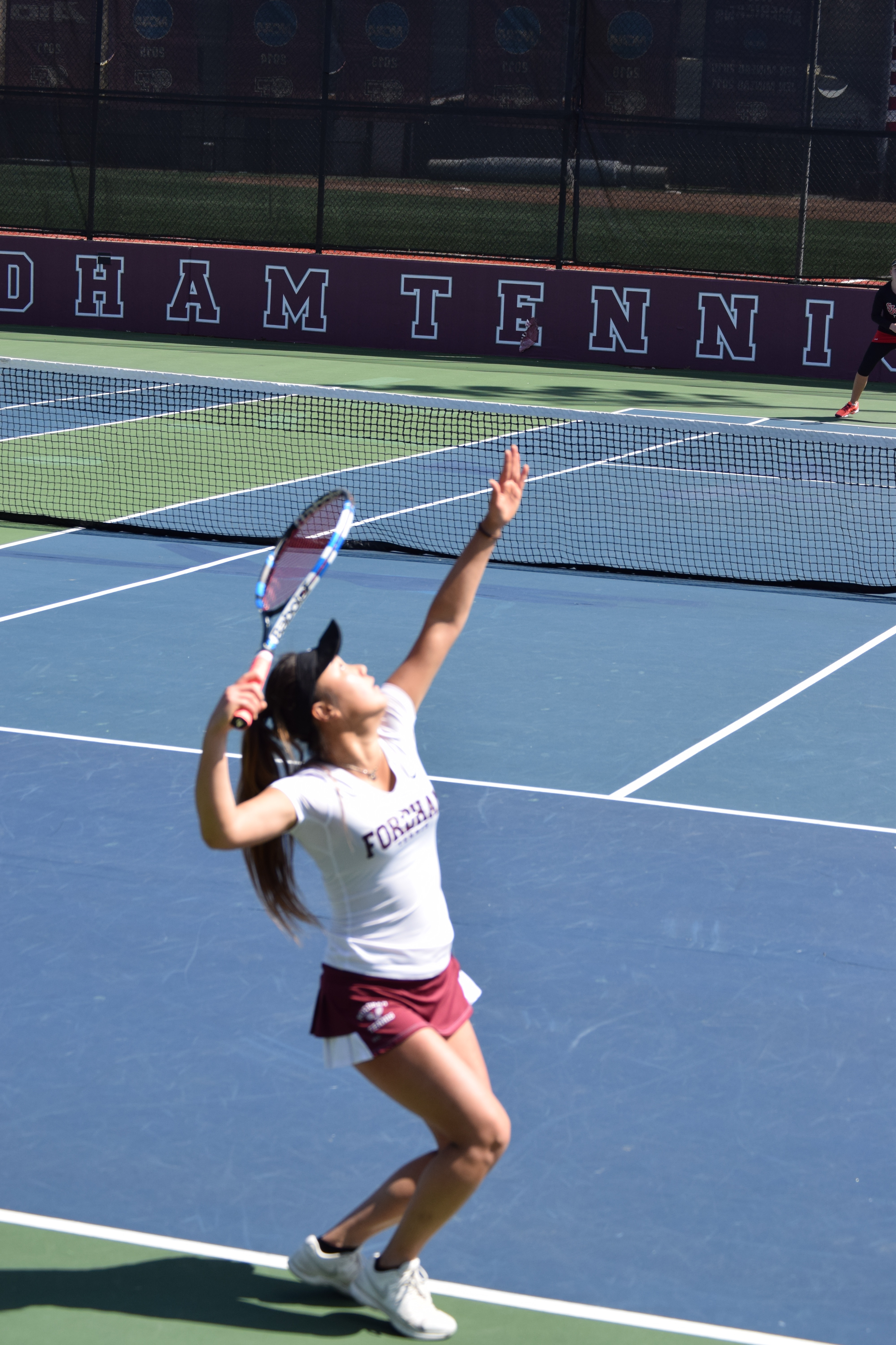 Next up for Women's Tennis is the A-10 Championship in Cincinnati. (Andrea Garcia/ The Fordham Ram)