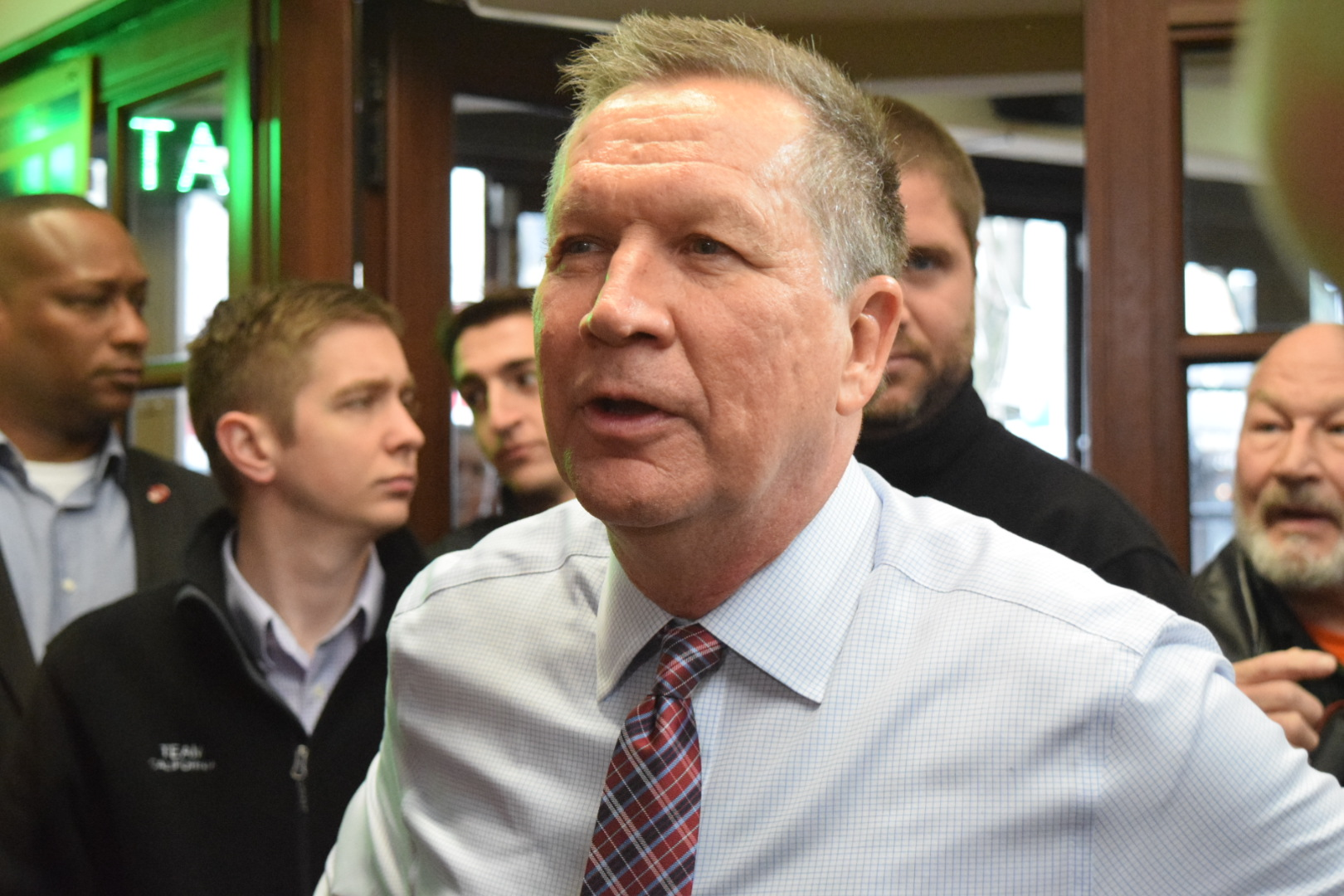 John Kasich recently stated that women should do not go to parties with alcohol to avoid the possibility of sexual assault. (Andrea Garcia/The Fordham Ram).