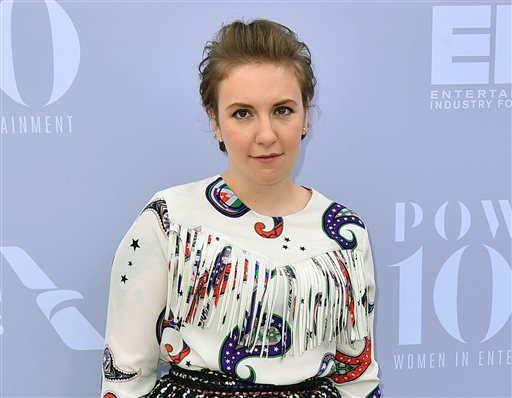 Lena Dunham makes feminism accessible and entertaining in her new book series. (Jordan Strauss/AP)