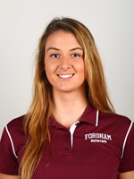 Ireland native Fiona Murtagh is a senior on the rowing team. (Courtesy of Fordham Athletics).