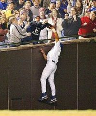 The Steve Bartman incident will always be a bad memory for Cubs fans, but it's time to forgive and forget. (Courtesy of Wikimedia)