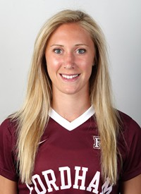 Forward Turner Block is one of three senior captains on the women's soccer team this season. (Courtesy of Fordham Athletics).