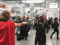 This year's New York Comic Con event was filled with exciting announcements about loved series, both old and new. (courtesy of Victor Ordonez)