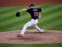 Corey Kluber and the Cleveland Indians will have home field advantage to start the World Series. (Courtesy of Wikimedia)