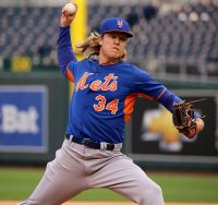 Noah Syndergaard is just one of the young players helping to revitalize baseball's image. (Courtesy of Wikimedia).