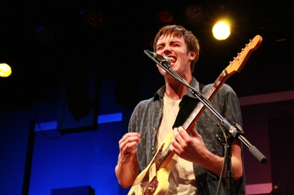 Jack Luppen's vocal strength has only improved after a year of touring in preparation for Hippo Campus' debut album. (Courtesy of Flickr)