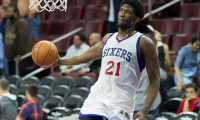 Joel Embiid has rejuvenated the Philadelphia 76ers. (Courtesy of Flickr)