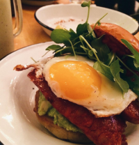 Two Hands offers a laid back option for healthy eating and Instagram pictures. (Courtesy of Emma Fingleton)