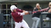 The Rams' bats were alive over the weekend, but the pitching faltered at points. (Courtesy of Fordham Athletics)