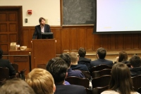 College Republicans hosted Charles Cooke, who spoke about the importance of federalism in the changing political landscape. (Julia Comerford / The Fordham Ram)
