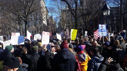 Fordham Grad Students Help Organize GeneralStrike