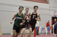 Junior Brian Cook set an Atlantic 10 Championship record in the mile (Courtesy of The Ram Archives).