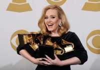 Adele took home some of the night's biggest prizes at the 59th Grammy Awards.