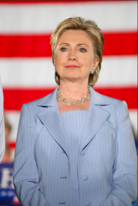 Never underestimate the power of a pantsuit and a killer countenance. (Courtesy of Flickr)