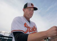 Mark Trumbo was one of the mashers to sign for what seems like a cheap contract. (Courtesy of Wikimedia)