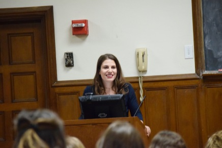Alumna Lauren Duca Speaks About JournalismExperience