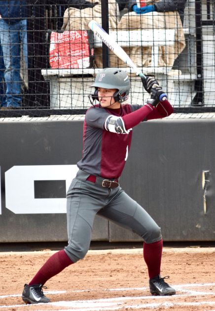 Softball Shuts Out URI Over Weekend Series